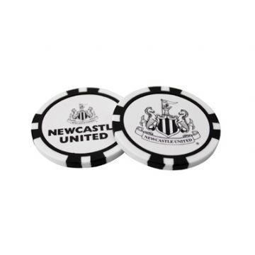 Newcastle United Poker Chip Golf Ball Markers